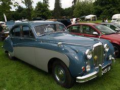 1961 Jaguar Mk8 Classic Saloon - widest body  car factory made - I want one SOOOOO bad.