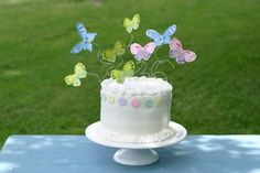 Butterfly cake idea for 1st birthday
