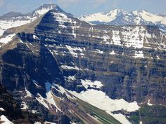 Mt. Phillips with distant Mt. Stimson (L. of center) by Montana Backpacker, via Flickr