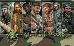 Woods by Coley-sXe on DeviantArt Frank Woods, Black Ops 1, Call Of Duty Black, Tactical Gear, Videos, Onion, Cool Art, Deviantart, God