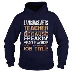 LANGUAGE ARTS TEACHER T-Shirts, Hoodies. SHOPPING NOW ==►…