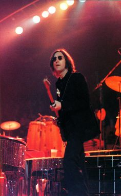John Lennon performing at Elton John's Madison Square Garden show on Thanksgiving 1974.