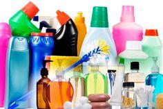 Produtos de limpeza devem entrar nas preparações?