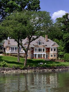 Stunning Lake House Style At Home, Mercer House, Traditional Exterior, Dream House Exterior, My Dream Home, Dream Homes, Dream Big, Exterior Design, Future House