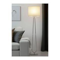 KLABB フロアランプ, ライトブラウン - - - IKEA