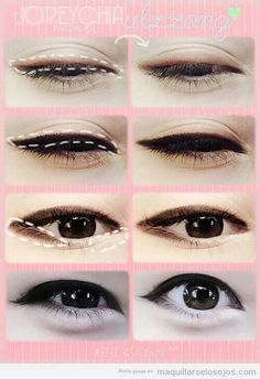 How to to eyeliner: ulzzang style