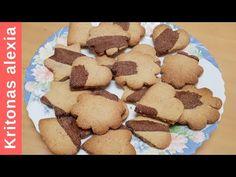 Νηστίσιμα μπισκότα κανέλας με κακάο!! [ciannamon biscuits with cocoa]   ... Gingerbread Cookies, Biscuits, Breakfast, Cake, Sweet, Youtube, Desserts, Food, Gingerbread Cupcakes