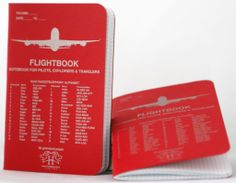 Got a couple of these in fire engine red. Very fine notebooks. The graph is much tighter than on field notes and darker lines. I wish the lines were lighter but still plan on getting some more of these for my collection. FLIGHTBOOK™ - halaby.aero