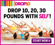 How to Lose 10, 20, 30 Pounds!  SELF's free Drop 10 Diet can help you get slim fast, with mouthwatering superfood meals, a choose-your-own workout plan, and the chance to win great prizes, to boot. Here's a sneak peak of what to expect—you'll be bikini-ready in 5 weeks! Love what you see here? Sign up for the full plan and start slimming today!