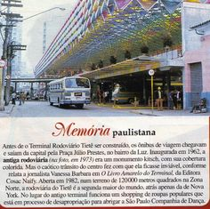 Antiga estacao rodoviaria de Sao Paulo