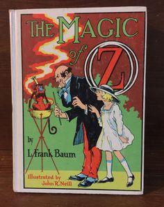 The Magic of Oz by L. Frank Baum HB White Series circa 1965 Vol. 13 by ReadeemedBooks on Etsy