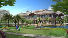 Serissa Residences Las Piñas City Commercial Center, Condominium, Ph, Bali, Mansions, House Styles, Modern, Business, Beauty