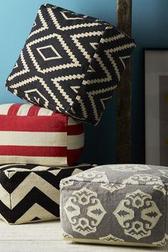 floor cushions? love.