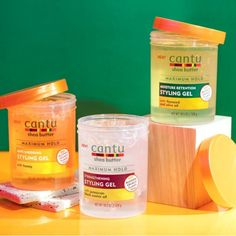 Cantu styling gel, three different products for any hair type. Cantu Hair, Natural Hair Care Tips, Natural Hair Styles, Curly Hair Care, Curly Hair Styles, Cantu Beauty, Accesorios Casual, Kinky Hair