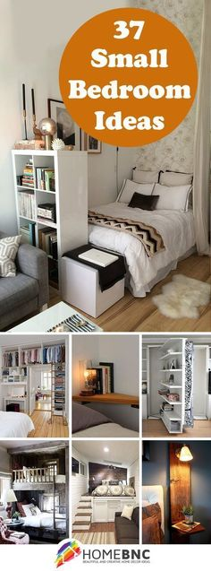 Some of these are phenomenal! Small Bedroom Designs