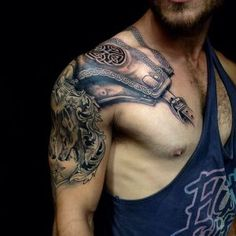 Shoulder Tattoo Designs For Guys
