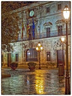 Ayuntamiento de Palma.  Plaza de Cort, Palma, Mallorca
