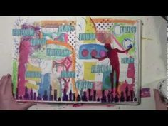 Collaging with Gelli Printing Leftovers  with Carolyn Dube