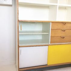 Vintage Retro Kandya Trimma Kitchen Cabinet By Frank Guille 60s Mid Century  in Antiques, Antique Furniture, Cabinets | eBay!