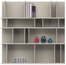 Półki i szafki na książki Como - konfigurowalny system regałowy od BoConcept