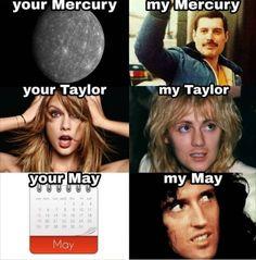 Mine are perfect Queen Pictures, Queen Photos, Bryan May, Queen Meme, Queens Wallpaper, Queen Aesthetic, Pochette Album, Roger Taylor, I Am A Queen