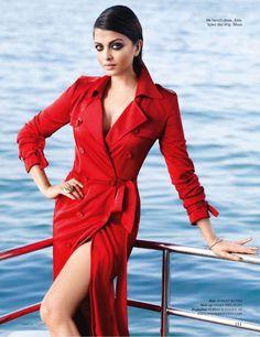 Aishwarya Rai. Vogue.
