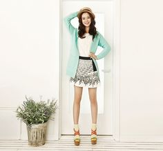 YESSE Spring 2014 Ad Campaign With Song Ji Hyo   Couch Kimchi