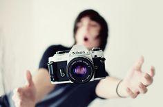 Whoa! Don't drop the camera! :D