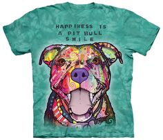 If you LOVE your Pit Bull 'Smile' then this shirt is a MUST have! NOTE: ==>> A Donation will be made to Pit Bull Rescue with each order. *** THESE are HIGH QUALITY Shirts You Will LOVE! *** This shirt