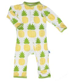 Amazon.com: KicKee Pants Baby-boys Print Coverall: Infant And Toddler Bodysuits: Clothing