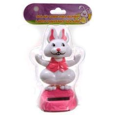 Shop Solar Powered Easter Bunny Never-ending Dancing Cars Decor Pink at Balli Gifts USA. Free Shipping order $39.99+ USA