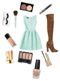 """""""Picnic time"""" by xixi2010 ❤ liked on Polyvore featuring Giuseppe Zanotti, Maybelline, Stila, Morphe, NARS Cosmetics and OPI"""