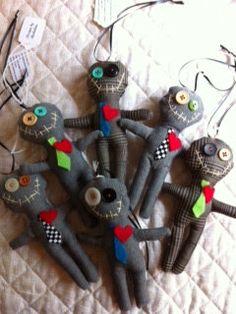 Corporate Voodoo dolls by michalinaeisenberg on Etsy, $15.00