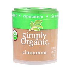 Simply Organic Cinnamon - Organic - Ground - A Grade - .67 oz - Case of 6 - Cinnamon - that most popular of spices - comes from the bark of an evergreen tree. Cinnamons sweet, spicy and warm fragrance adds pungent sweetness to your favorite baked goodies. You can also use it to add a depth of flavor to savory dishes as well. Botanical Name: Cinnamomum burmannii (Nees and T. Nees ) BlumeProduct Notes: Organic Korintje cinnamon with 3% oil content to infuse recipes with pure cinnamon…