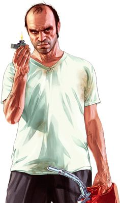 GTA 5 - Trevor Render 3 By Ashish Kumar