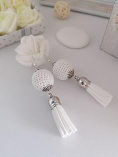 Tisztaság, ártatlanság és gyógyulás színe Pearl Earrings, Drop Earrings, Pearls, Jewelry, Design, Fashion, Moda, Pearl Studs, Jewlery