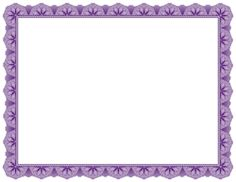 purple certificate template - background templates formal certificate borders to