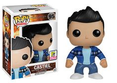 Funko announcing their San Diego Comic-Con Exclusives Wave Two | French mistake Castiel from Supernatural