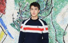EXO Member Sehun is Louis Vuitton Resort 2019's Best Dressed Man