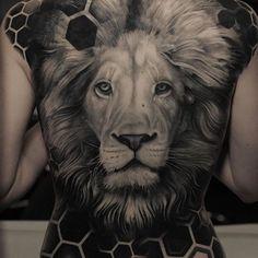 Las 79 Mejores Imágenes De Tattoo Leon O Trigres Realistic En 2019