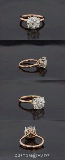 Simple Engagement Rings (142) #weddingrings