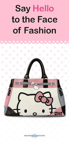 When it comes to being super cute, Hello Kitty has her look in the bag! This fashion handbag is perfect for a Hello Kitty fan and features a stylish color-block design. There's even a sparkling Hello Kitty charm and removable shoulder strap.