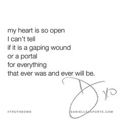 This #Truthbomb came from my post: Nothing changes without me (a poem for open, terrified hearts). Click to read the full post.