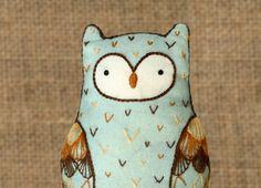 Horned Owl - DIY Embroidery Kit