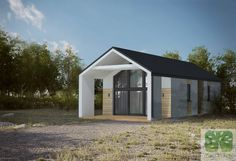 Dom jednorodzinny 76,70m2 Dom, Beams, Shed, Construction, Outdoor Structures, Building, House, Home, Buildings