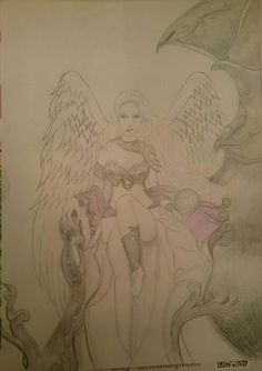 Nearly finished pic of angel princess