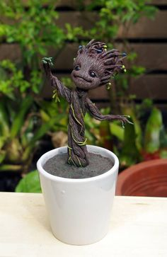 Baby Groot from https://www.facebook.com/pages/Why%E6%96%87%E5%8C%96%E5%89%B5%E6%84%8F%E5%B7%A5%E4%BD%9C%E5%AE%A4/440832392640865?fref=ts