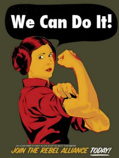 We Can Do It! Leia