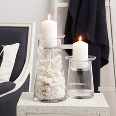 Fill these Sabbia Candle Holders with your little treasures