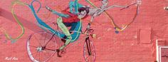 #Mural #ciclismo